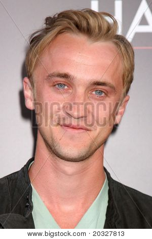 LOS ANGELES - MAY 19:  Tom Felton arriving at the