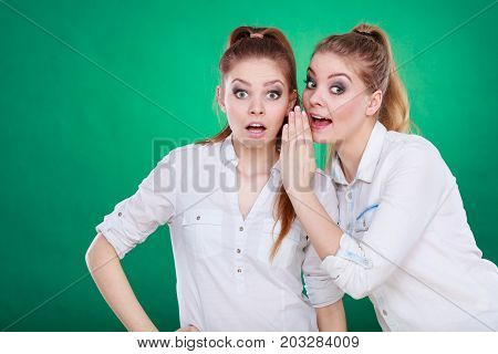 Two Teenagers Shares Secrets, Gossip