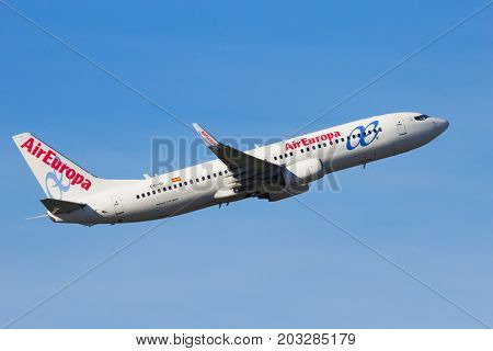 Air Europa Boeing 737Ng Airplane
