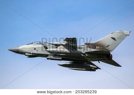 British Raf Tornado Bomber Aircraft