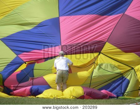 Hot Air Balloon Takedown