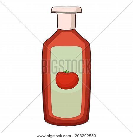 Ketchup icon. Cartoon illustration of ketchup vector icon for web