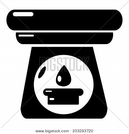 Spa aroma bottle icon . Simple illustration of spa aroma bottle vector icon for web design isolated on white background