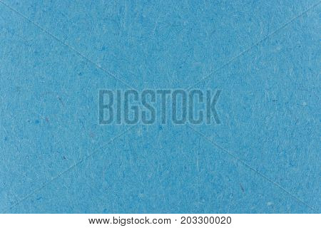 Blue Jay Paper Background Texture. Colorful Paper Page Surface with Fiber Hairs.