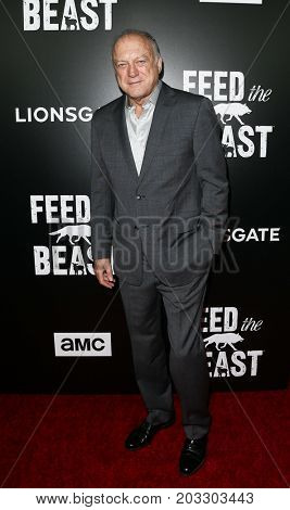 NEW YORK - MAY 23: John Doman attends the AMC's 'Feed The Beast' premiere on May 23, 2016 in New York City.