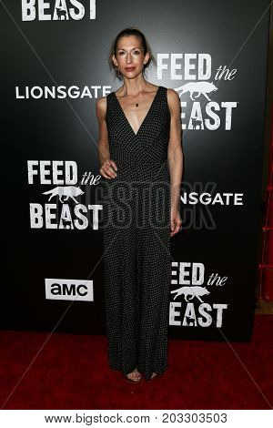 NEW YORK - MAY 23: Alysia Reiner attends the AMC's 'Feed The Beast' premiere on May 23, 2016 in New York City.