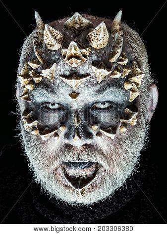 Alien Or Reptilian Makeup