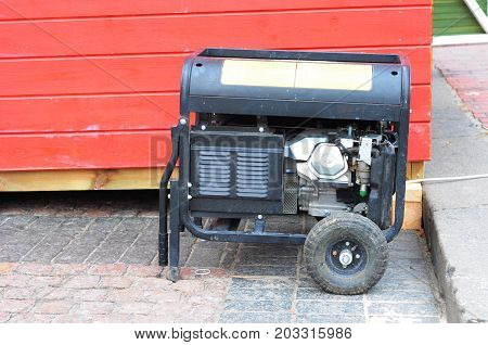 Gasoline Powered Portable Generator ready for Hurricane