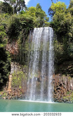 Millaa Millaa Falls is a heritage-listed plunge waterfall at Millaa Millaa Tablelands Region Queensland Australia.