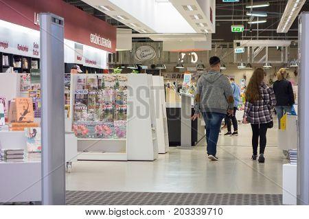 Visit To A Supermarket In Vilnius