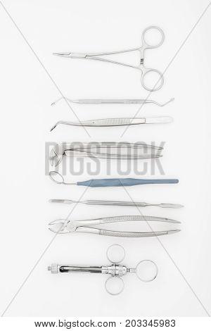 Set Of Dental Instruments