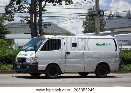 Money Delivery Van Of Guardforce Company