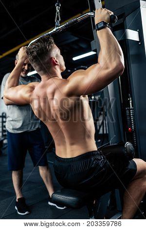 Shirtless Sportsman