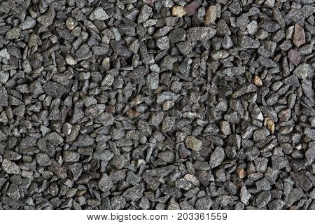 Texture from basalt stones close-up shot. High quality texture on macro.