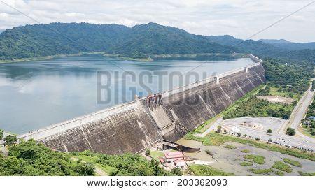 Khun Dan Prakan Chon Dam In Nakonnarok Province