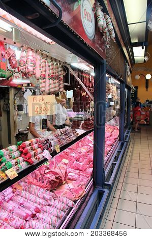 Hungary Meat Store