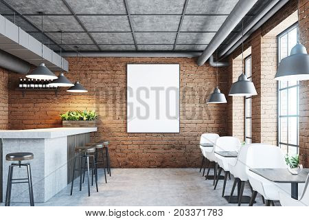 Brick Cafe, Bar And Poster