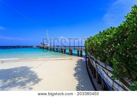 Pier On Koh Maiton Island, Phuket,thailand
