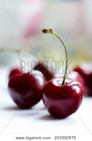 berries, cherries, berries still life, red berries