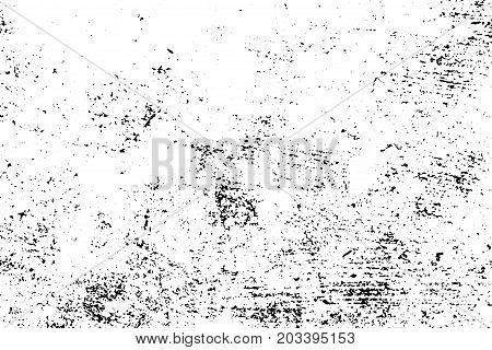 Distressed And Rough Concrete Floor Vector Texture Rustic With Grain Stains Weathered