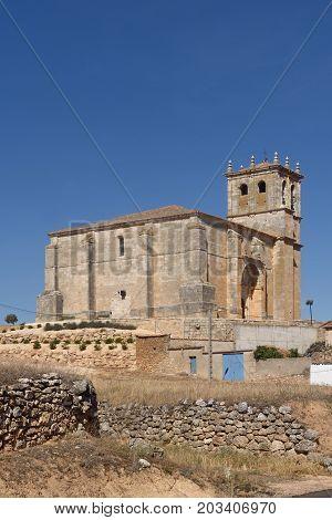 Nuestra Senora De La Asuncion, Olmedillo De Roa, Ribra Del Duero, Burgos Province,castille And Leon,