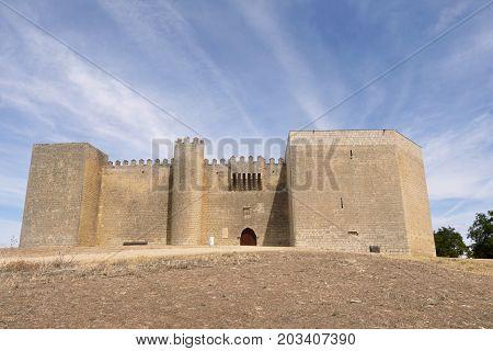 Castle Of Montealegre De Campos, Tierra De Campos Region, Valladolid Province, Castilla Y Leon, Spai