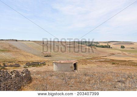 Old Dovecote In Montealegre De Campos, Tierra De Campos Region, Valladolid Province, Castilla Y Leon