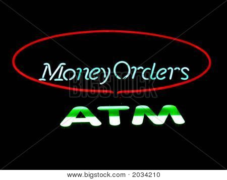 Atm Money Orders