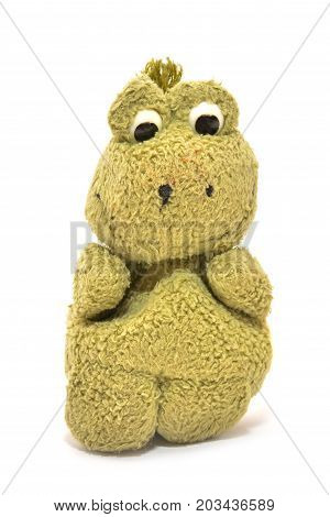 plush toy isolated on a white background