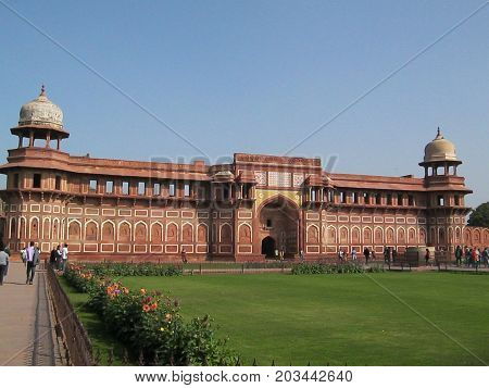 Agra fort where Late King Shah Jahan was Imprisoned