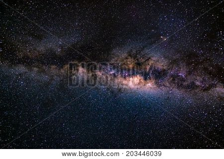 The Austral Milky Way, With Details Of Its Colorful Core, Outstandingly Bright. Captured From The So
