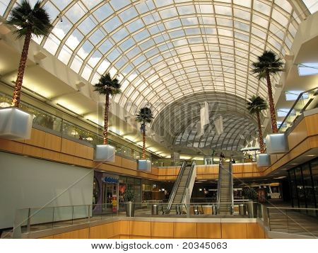 Modern Shopping Center in US