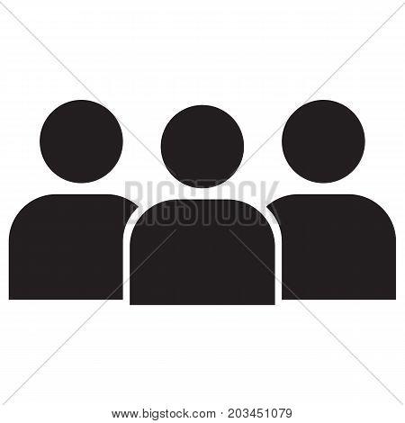 People icon black business businessman button black, business, businessman, button