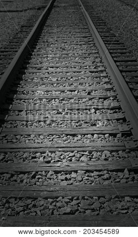Picture of part railway in Durham, NC.