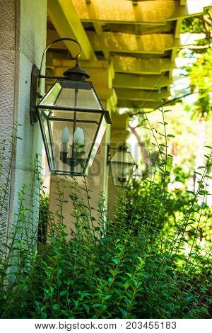 Exterior And Interior Design For Lamp