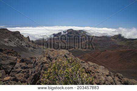 Haleakala National Park Maui Hawaii Beautiful and Desolate