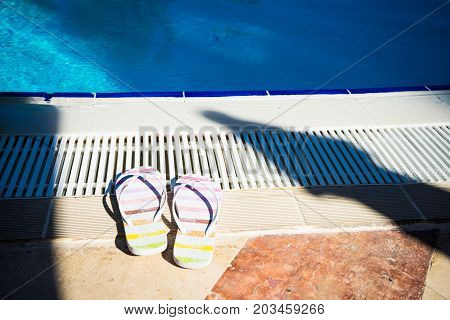 Pool Relax Concept