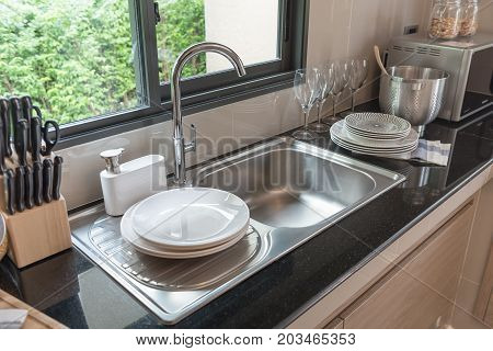Sink In Kitchen Room
