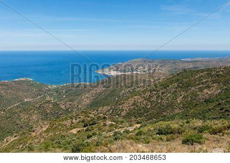 View Of The Municipality Of El Port De La Selva,
