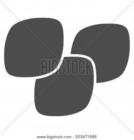 Medical Tablets vector icon. Style is flat graphic gray symbol.