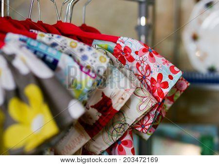Flower Power Kids Dresses On On Hangers