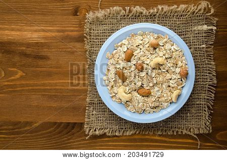Muesli With Nuts.