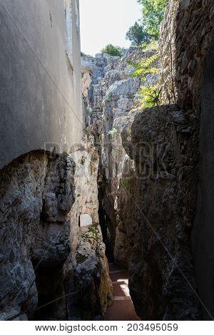 Montagna Spaccata, Gaeta, Latina, Italy