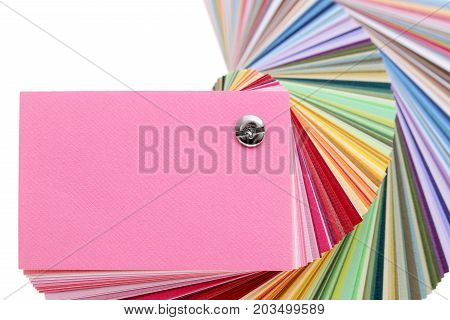 colorful paper - variation of different colored paper - color samples