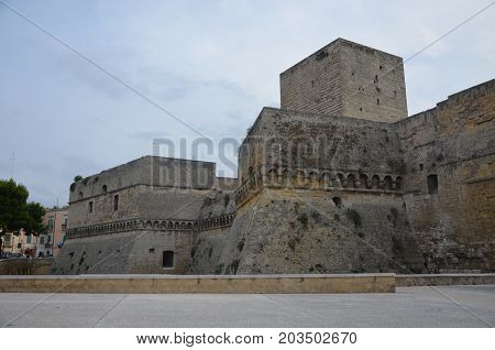 The Bari Castle - Old Town architecture