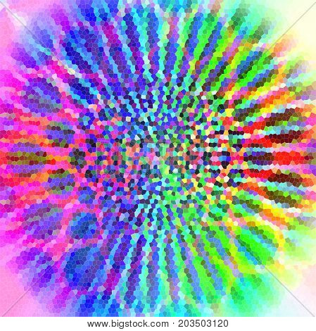 Abstract coloring background of the pastels gradient with disco effects,pinch,stained glass and lighting effects