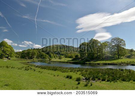 River Brathay near Elterwater, English Lake District