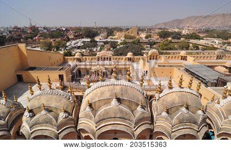 Old Architectures In  Jaipur, India