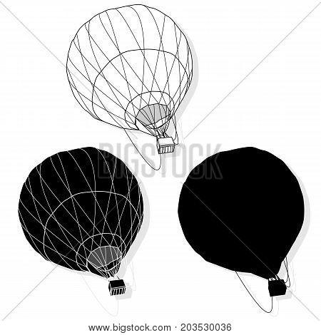 Hot Air Balloon / Montgolfier