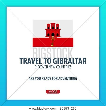 Travel To Gibraltar. Discover And Explore New Countries. Adventure Trip.
